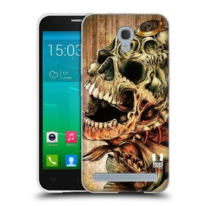 Silikonové pouzdro na mobil Alcatel One Touch Idol 2 Mini S 6036Y HEAD CASE PIRANHA