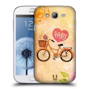 Plastové pouzdro na mobil Samsung Galaxy Grand Neo Plus HEAD CASE PAŘÍŽ NA KOLE