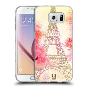 Silikonové pouzdro na mobil Samsung Galaxy S6 HEAD CASE PAŘÍŽ TREES