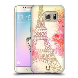 Silikonové pouzdro na mobil Samsung Galaxy S7 Edge HEAD CASE PAŘÍŽ TREES