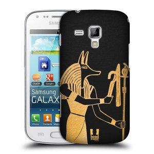 Plastové pouzdro na mobil Samsung Galaxy S Duos HEAD CASE EGYPT ANUBIS