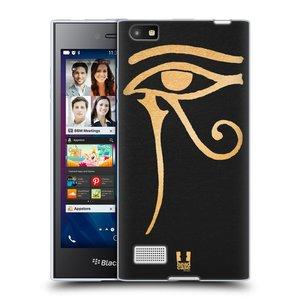 Silikonové pouzdro na mobil Blackberry Leap HEAD CASE EGYPT OKO BOHA RA