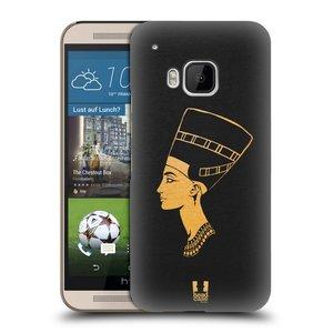 Plastové pouzdro na mobil HTC ONE M9 HEAD CASE EGYPT NEFERTITI