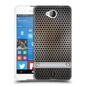 Plastové pouzdro na mobil Microsoft Lumia 650 HEAD CASE INDUSTRIAL SHEET
