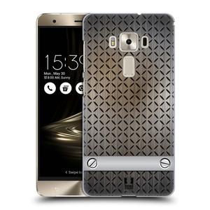 Plastové pouzdro na mobil Asus ZenFone 3 Deluxe ZS570KL HEAD CASE INDUSTRIAL STEEL