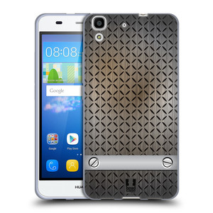 Silikonové pouzdro na mobil Huawei Y6 HEAD CASE INDUSTRIAL STEEL