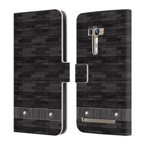 Flipové pouzdro na mobil Asus Zenfone Selfie ZD551KL HEAD CASE Industrial Wood