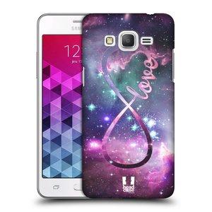 Plastové pouzdro na mobil Samsung Galaxy Grand Prime VE HEAD CASE NEKONEČNÁ LÁSKA