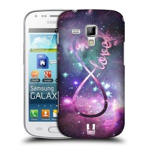Plastové pouzdro na mobil Samsung Galaxy S Duos 2 HEAD CASE NEKONEČNÁ LÁSKA