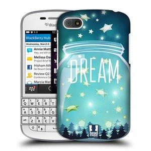Plastové pouzdro na mobil Blackberry Q10 HEAD CASE SKLENICE DREAM
