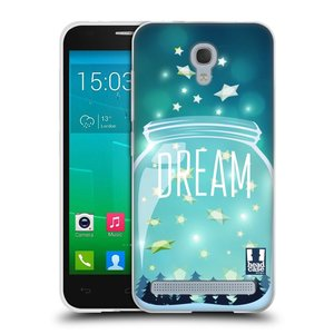 Silikonové pouzdro na mobil Alcatel One Touch Idol 2 Mini S 6036Y HEAD CASE SKLENICE DREAM