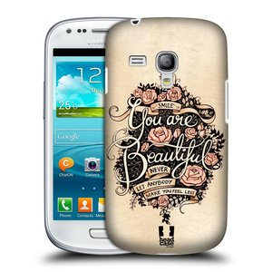 Plastové pouzdro na mobil Samsung Galaxy S3 Mini VE HEAD CASE BEAUTIFUL