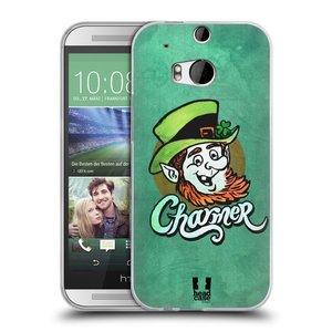 Silikonové pouzdro na mobil HTC ONE M8 HEAD CASE CHARMER