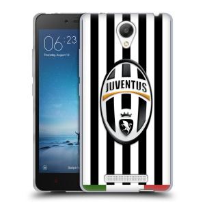 Silikonové pouzdro na mobil Xiaomi Redmi Note 2 HEAD CASE Juventus FC - Italian Stripes