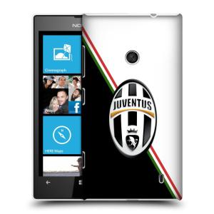 Plastové pouzdro na mobil Nokia Lumia 520 HEAD CASE Juventus FC - Black and White