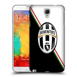 Plastové pouzdro na mobil Samsung Galaxy Note 3 Neo HEAD CASE Juventus FC - Black and White