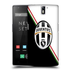 Plastové pouzdro na mobil OnePlus One HEAD CASE Juventus FC - Black and White