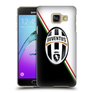 Plastové pouzdro na mobil Samsung Galaxy A3 (2016) HEAD CASE Juventus FC - Black and White