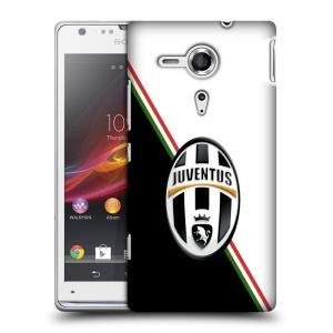 Plastové pouzdro na mobil Sony Xperia SP C5303 HEAD CASE Juventus FC - Black and White
