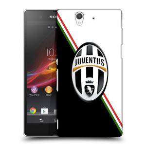 Plastové pouzdro na mobil Sony Xperia Z C6603 HEAD CASE Juventus FC - Black and White