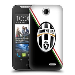Plastové pouzdro na mobil HTC Desire 310 HEAD CASE Juventus FC - Black and White