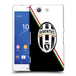 Plastové pouzdro na mobil Sony Xperia Z3 Compact D5803 HEAD CASE Juventus FC - Black and White