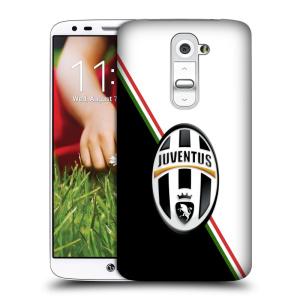 Plastové pouzdro na mobil LG G2 HEAD CASE Juventus FC - Black and White