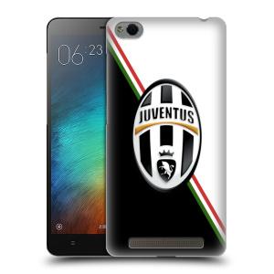 Plastové pouzdro na mobil Xiaomi Redmi 3 HEAD CASE Juventus FC - Black and White