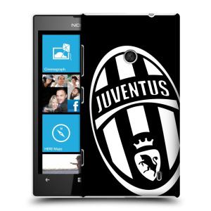 Plastové pouzdro na mobil Nokia Lumia 520 HEAD CASE Juventus FC - Velké Logo