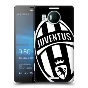 Plastové pouzdro na mobil Microsoft Lumia 950 XL HEAD CASE Juventus FC - Velké Logo