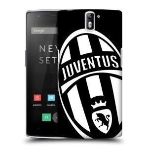 Plastové pouzdro na mobil OnePlus One HEAD CASE Juventus FC - Velké Logo