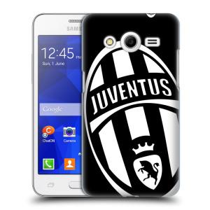 Plastové pouzdro na mobil Samsung Galaxy Core 2 HEAD CASE Juventus FC - Velké Logo