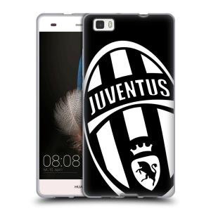Silikonové pouzdro na mobil Huawei P8 Lite HEAD CASE Juventus FC - Velké Logo