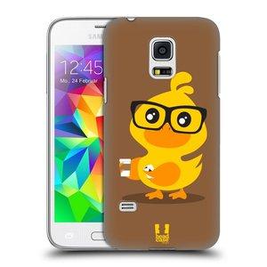 Plastové pouzdro na mobil Samsung Galaxy S5 Mini HEAD CASE KACHNIČKA HIPSTERKA