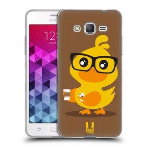 Silikonové pouzdro na mobil Samsung Galaxy Grand Prime HEAD CASE KACHNIČKA HIPSTERKA