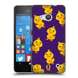 Plastové pouzdro na mobil Microsoft Lumia 550 HEAD CASE KACHNIČKY VŠUDE