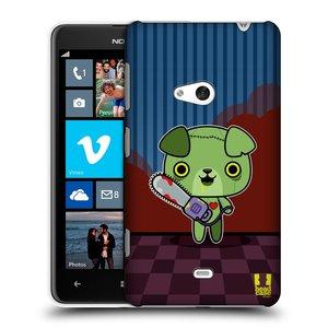 Plastové pouzdro na mobil Nokia Lumia 625 HEAD CASE ZOMBIE ŠTĚNĚ