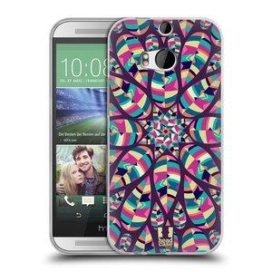 Silikonové pouzdro na mobil HTC ONE M8 HEAD CASE Shine