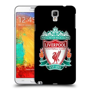 Plastové pouzdro na mobil Samsung Galaxy Note 3 Neo HEAD CASE ZNAK LIVERPOOL FC OFFICIAL BLACK