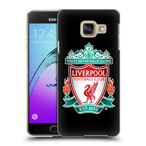 Plastové pouzdro na mobil Samsung Galaxy A3 (2016) HEAD CASE ZNAK LIVERPOOL FC OFFICIAL BLACK