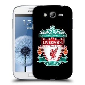Plastové pouzdro na mobil Samsung Galaxy Grand Neo HEAD CASE ZNAK LIVERPOOL FC OFFICIAL BLACK