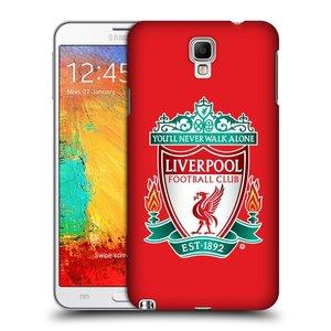 Plastové pouzdro na mobil Samsung Galaxy Note 3 Neo HEAD CASE ZNAK LIVERPOOL FC OFFICIAL RED