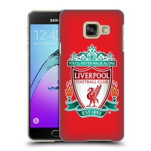 Plastové pouzdro na mobil Samsung Galaxy A3 (2016) HEAD CASE ZNAK LIVERPOOL FC OFFICIAL RED