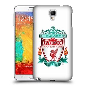 Plastové pouzdro na mobil Samsung Galaxy Note 3 Neo HEAD CASE ZNAK LIVERPOOL FC OFFICIAL WHITE