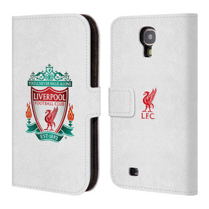 Flipové pouzdro na mobil Samsung Galaxy S4 HEAD CASE ZNAK LIVERPOOL FC OFFICIAL WHITE