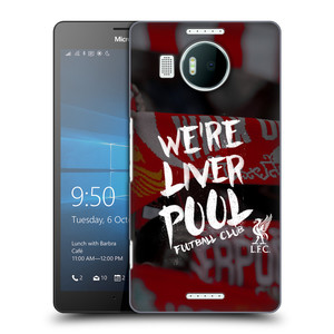 Plastové pouzdro na mobil Microsoft Lumia 950 XL HEAD CASE We're Liverpool