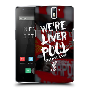 Plastové pouzdro na mobil OnePlus One HEAD CASE We're Liverpool