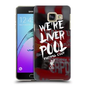 Plastové pouzdro na mobil Samsung Galaxy A3 (2016) HEAD CASE We're Liverpool