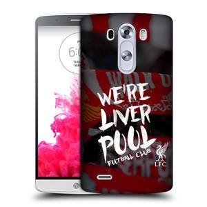 Plastové pouzdro na mobil LG G3 HEAD CASE We're Liverpool