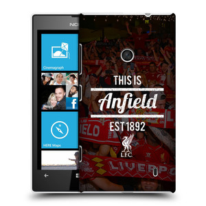 Plastové pouzdro na mobil Nokia Lumia 520 HEAD CASE LFC This Is Anfield